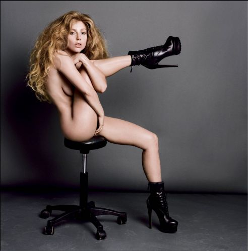 Lady-Gaga-nue-V-Magazine-10