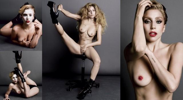 Lady Gaga photos nues porn