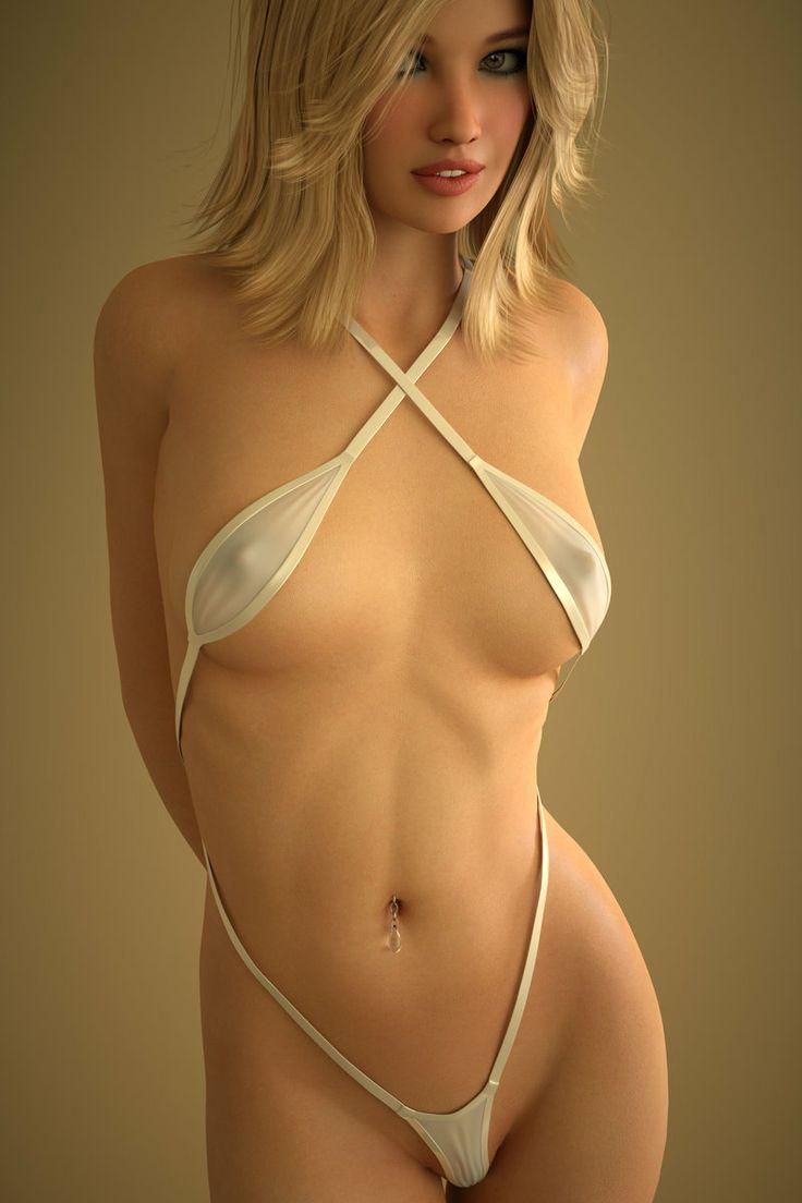 Teen swimsuit hard nipples