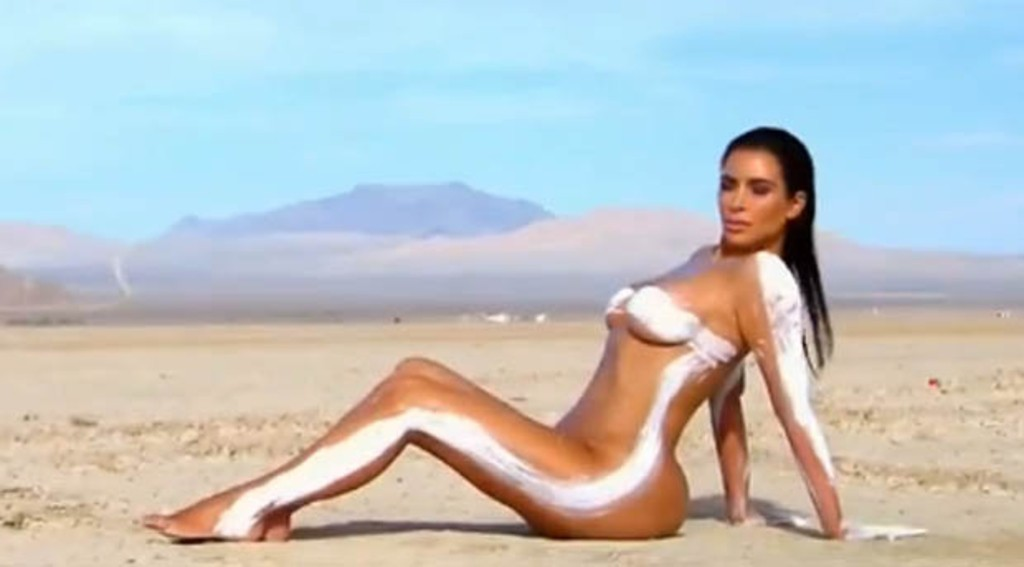 kim kardashian complètement nue