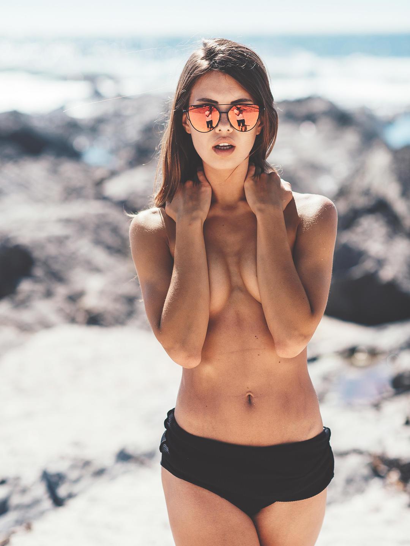 la fille nue du jour