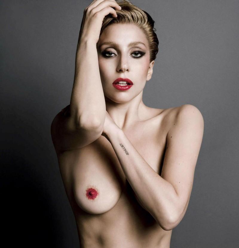 Lady-Gaga-nue-V-Magazine-4-800x828
