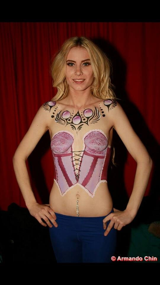 sydney marzi body painting