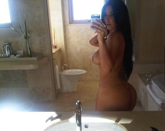 kim kardashian nue photos volées