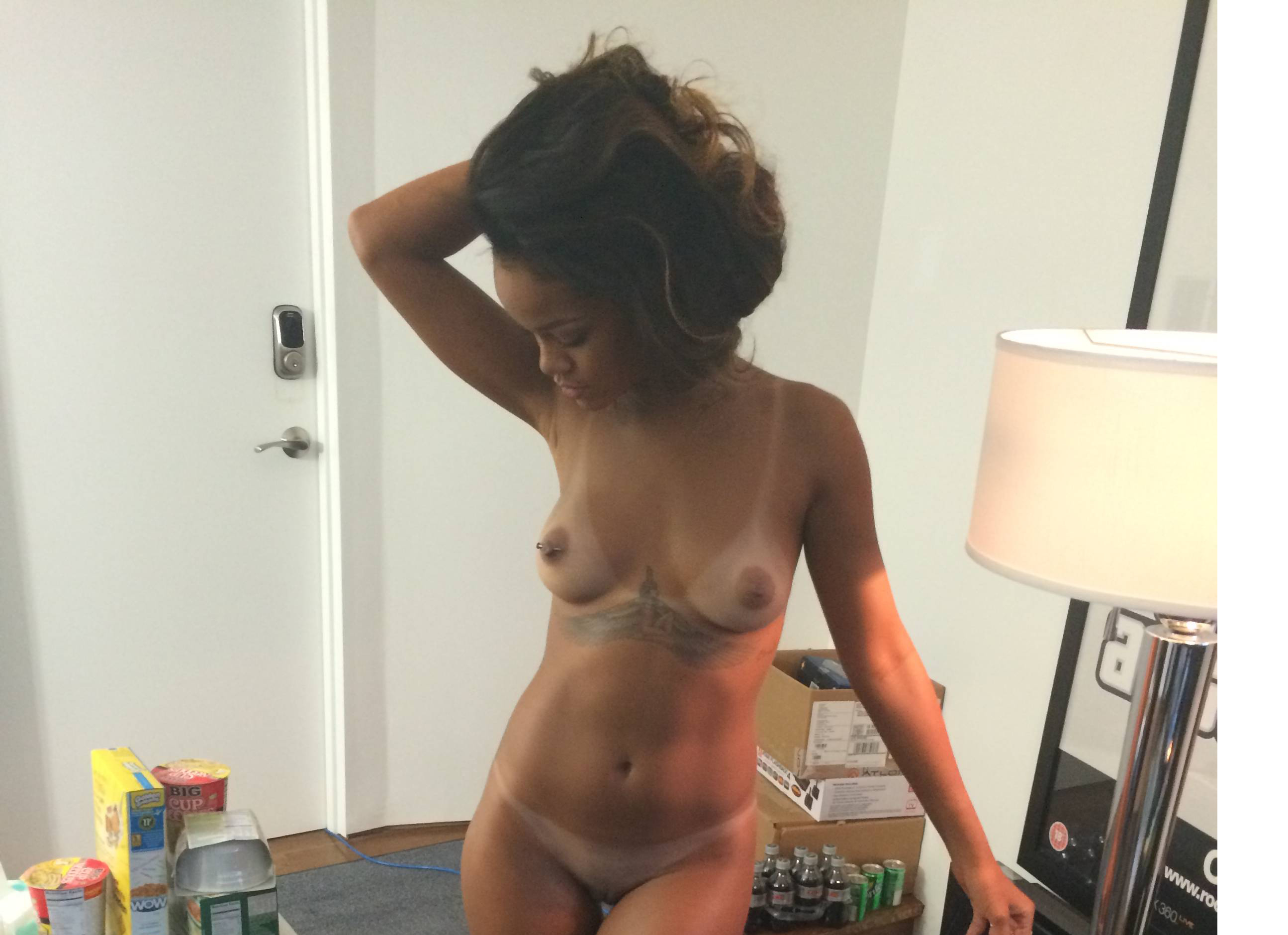 Rihanna Goes Naked In See
