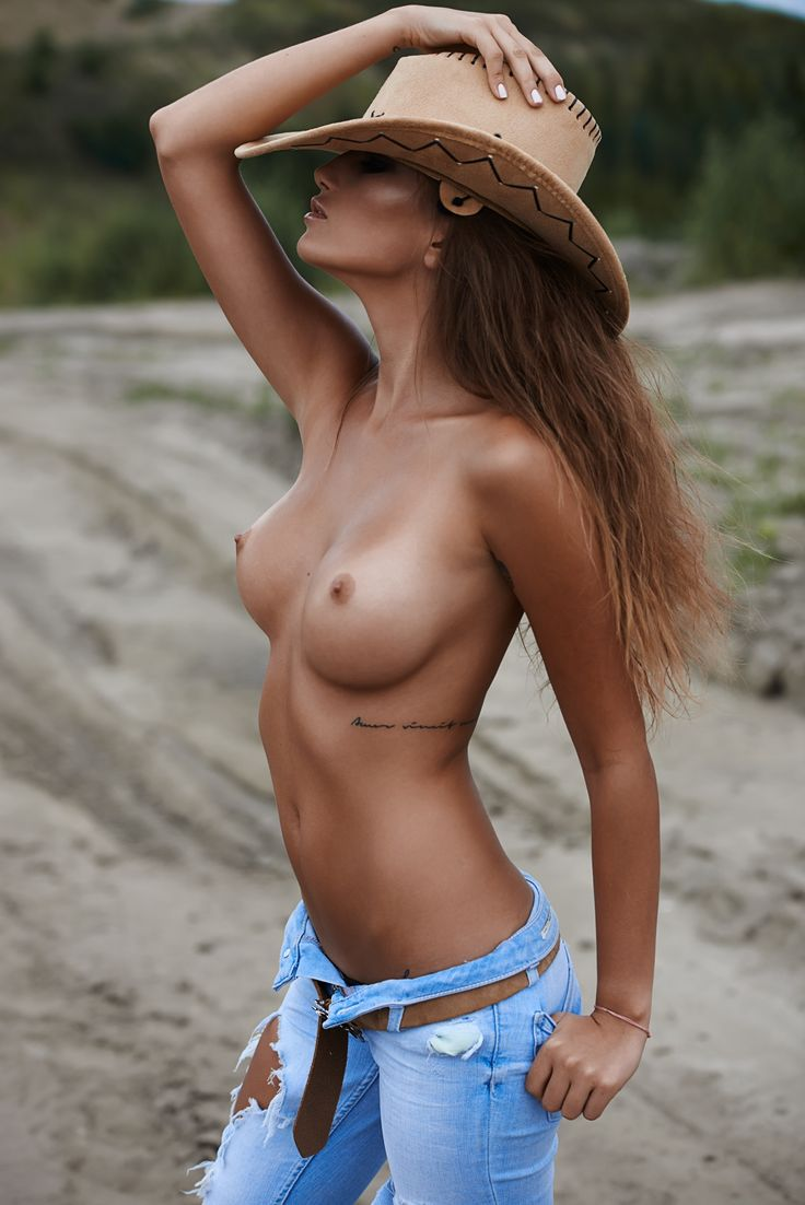 cow girl topless