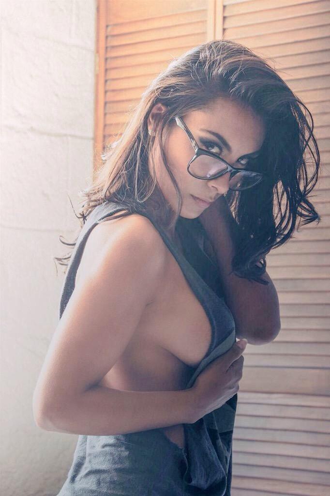femme à lunette