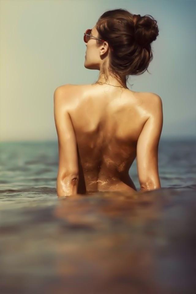 nue a la mer