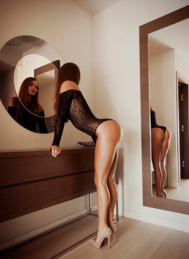 tenue transparente sexy