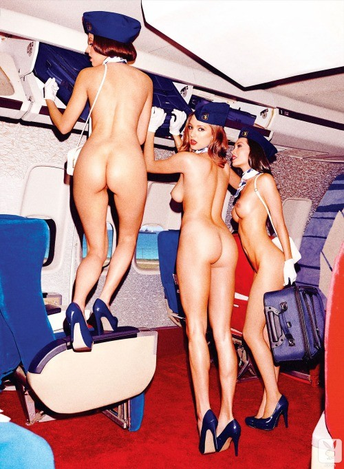 hotesses nues