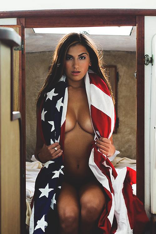 america nude