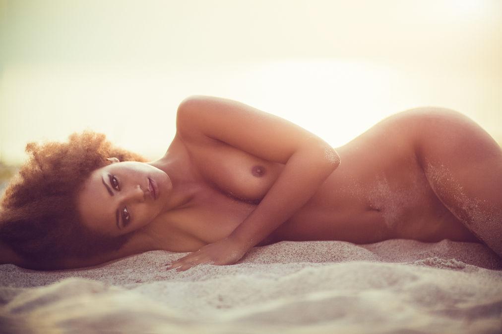 black nude beach