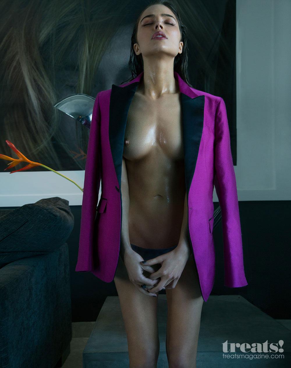 topless girl