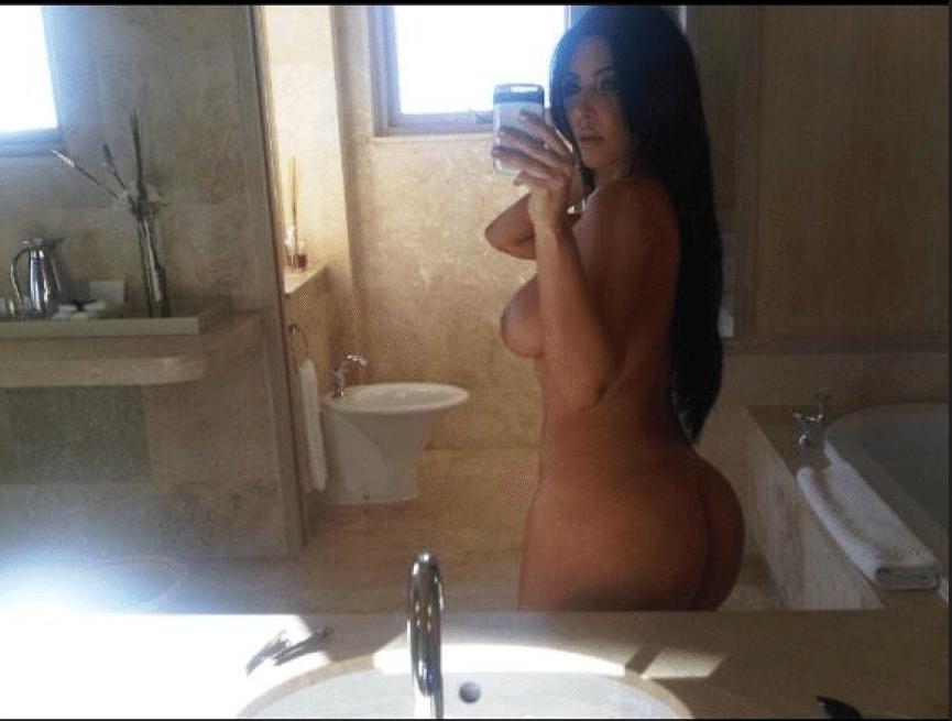 kim kardashian nue sexy