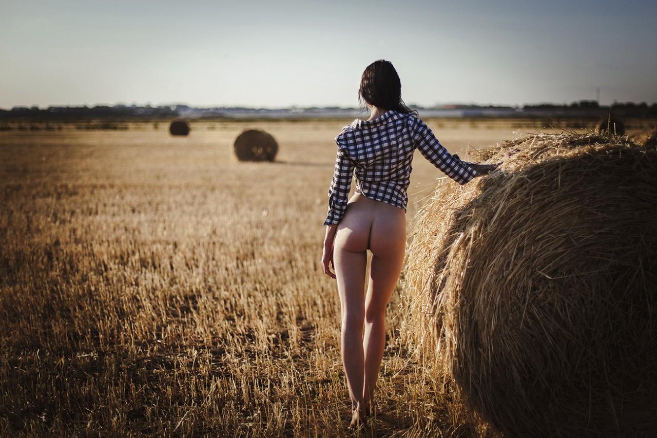 nue a la campagne