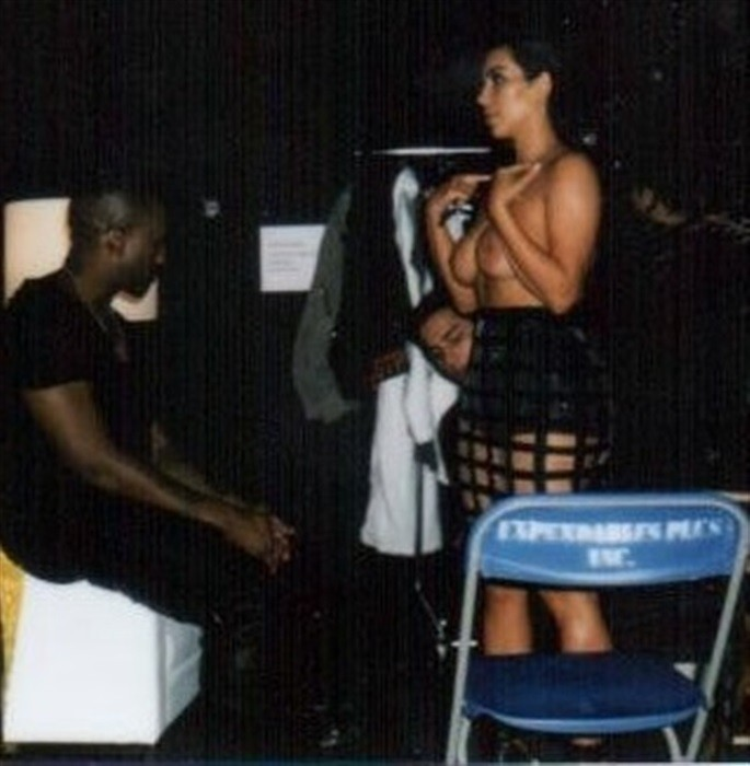 photo kim kardashian nue
