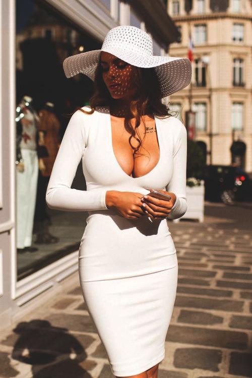 belle femme robe