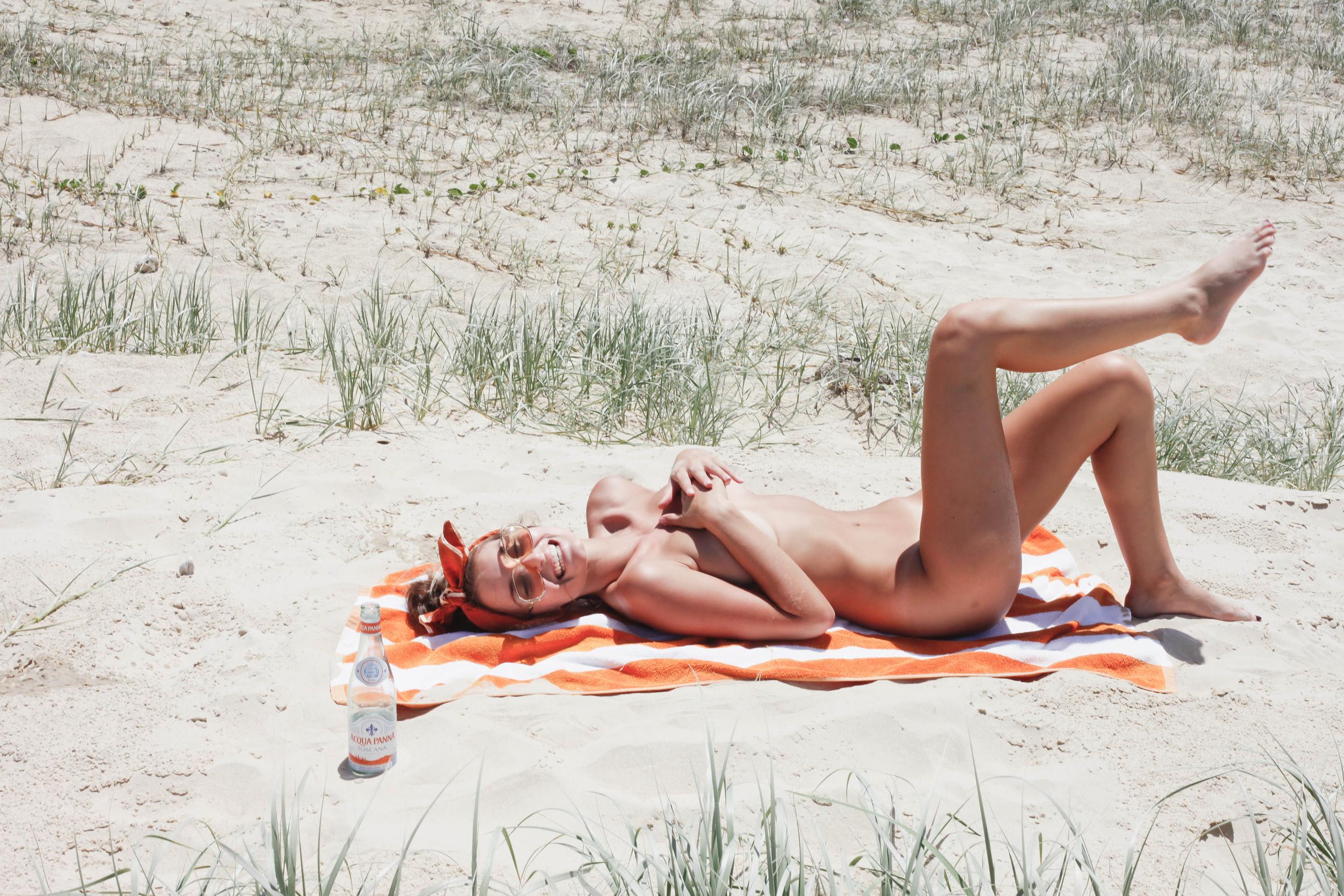 kate fenton nude beach