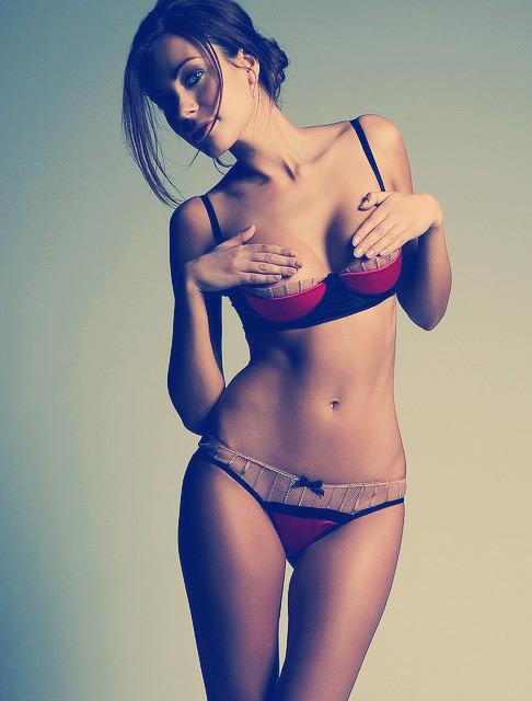 seins à l'air