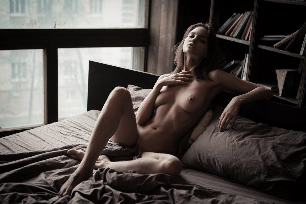Maria Demina nue